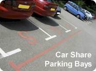 Car Share Parking Bays